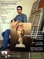 Chingiz Mehbaliyev's personal exhibition in Budapest